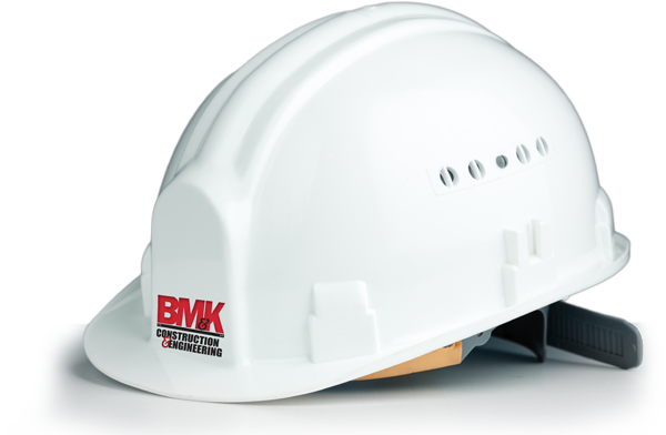 BM and K hard hat